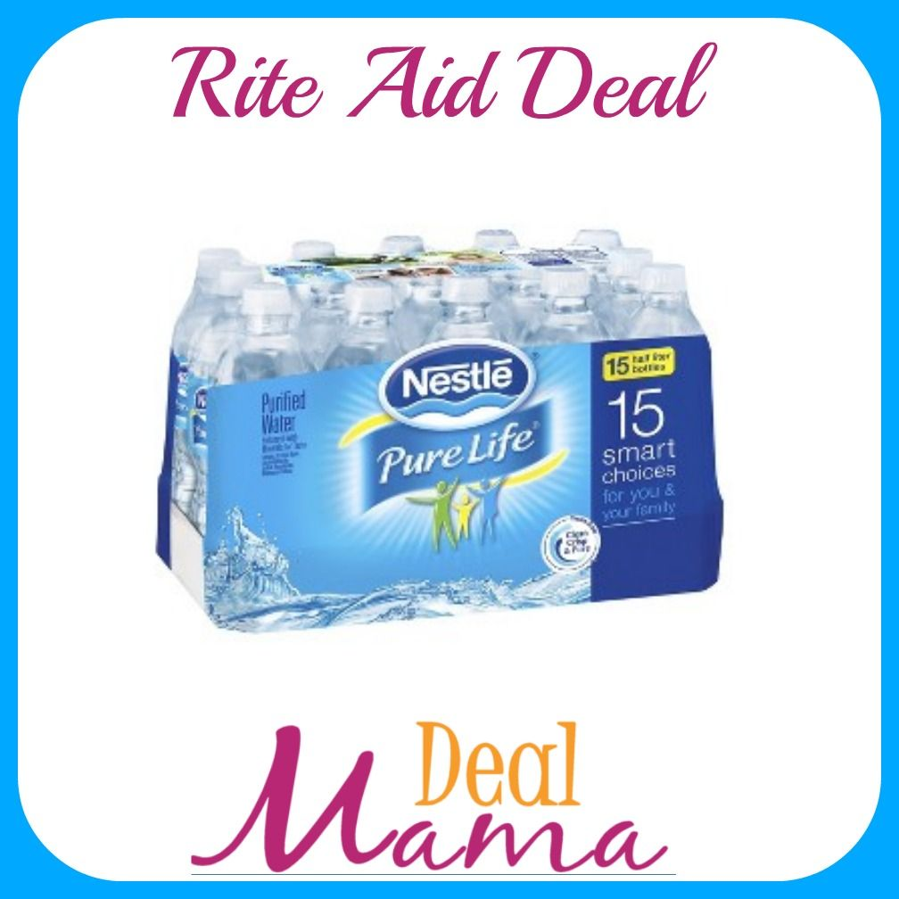 You Can Now Stay Very Hydrated Https Dealmama Com 2018 02 Rite Aid Nestle Pure Life Bottled Water 28 Pk 2 50 Starting Nestle Pure Life Bottle Water Bottle