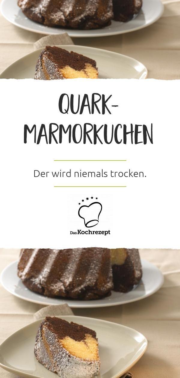 Marmorkuchen mit Quark