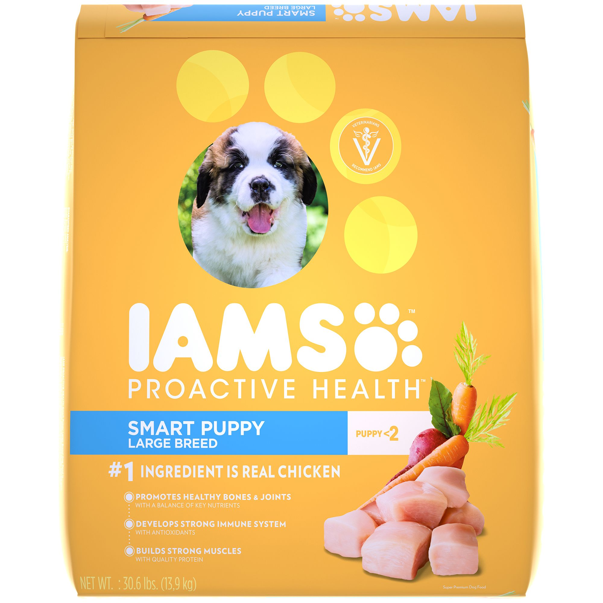 Iams Small And Toy Breed Dog On Bag Picture