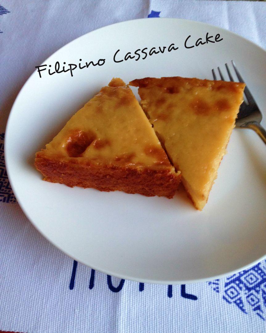 Photo of Recipe – FILIPINO CASSAVA CAKE – #cassava #filipino #recipe – #CasavaCakeRecip…