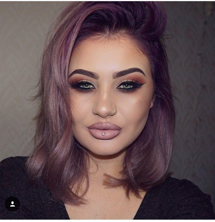 Jamie Genevieve Purple roots | Hair | Pinterest | Makeup, Hair ...
