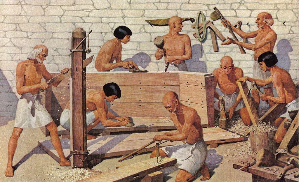 картинка труд в древности лицо