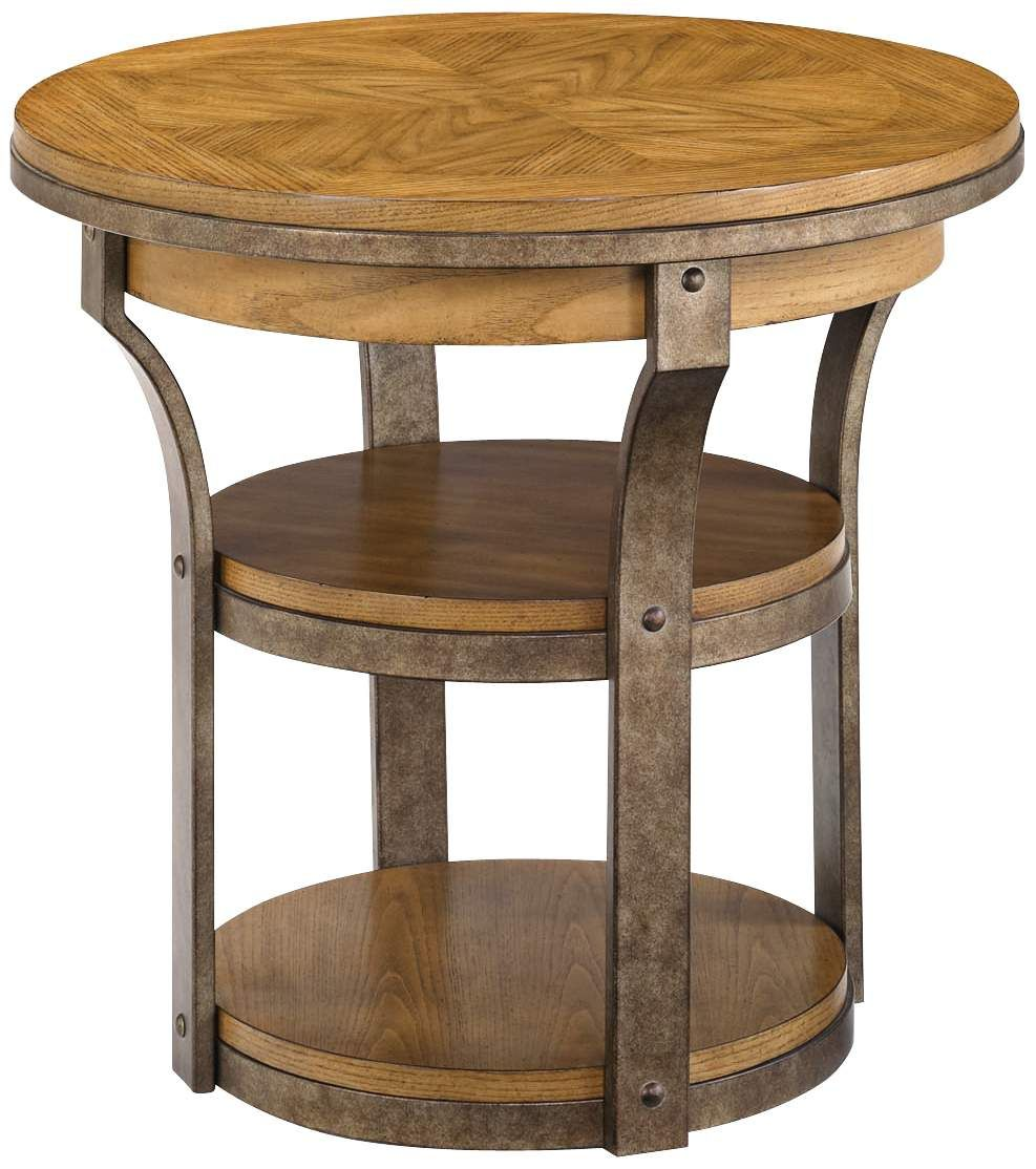 Vero round wooden end table downingstreet paris neutral