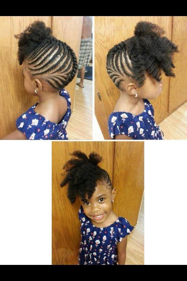 Cute Kids Braid Hairstyles Natural Hairstyles For Kids Kids
