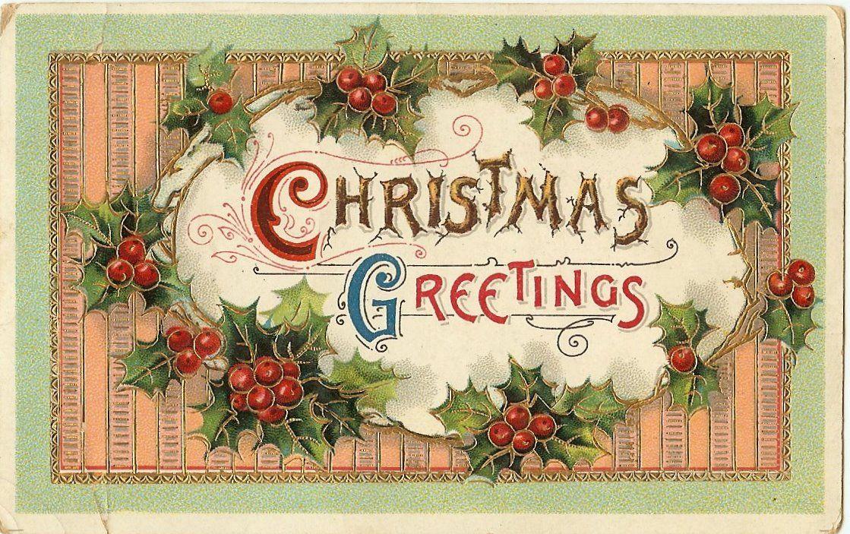 Lark Lola Old Christmas Postcards Free To Download Vintage Christmas Cards Christmas Postcard Old Christmas