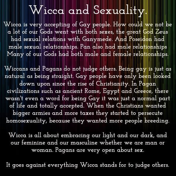 Wiccan beliefs on sexuality