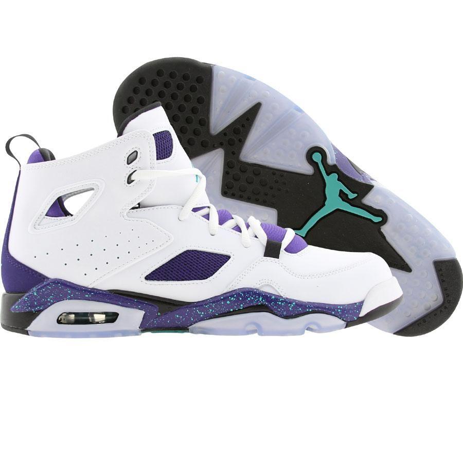 a75c63dff8cd9a Jordan Men FLTCLB Flight Club 91 (white   new emerald   grape ice   black)  555475-108 -  139.99