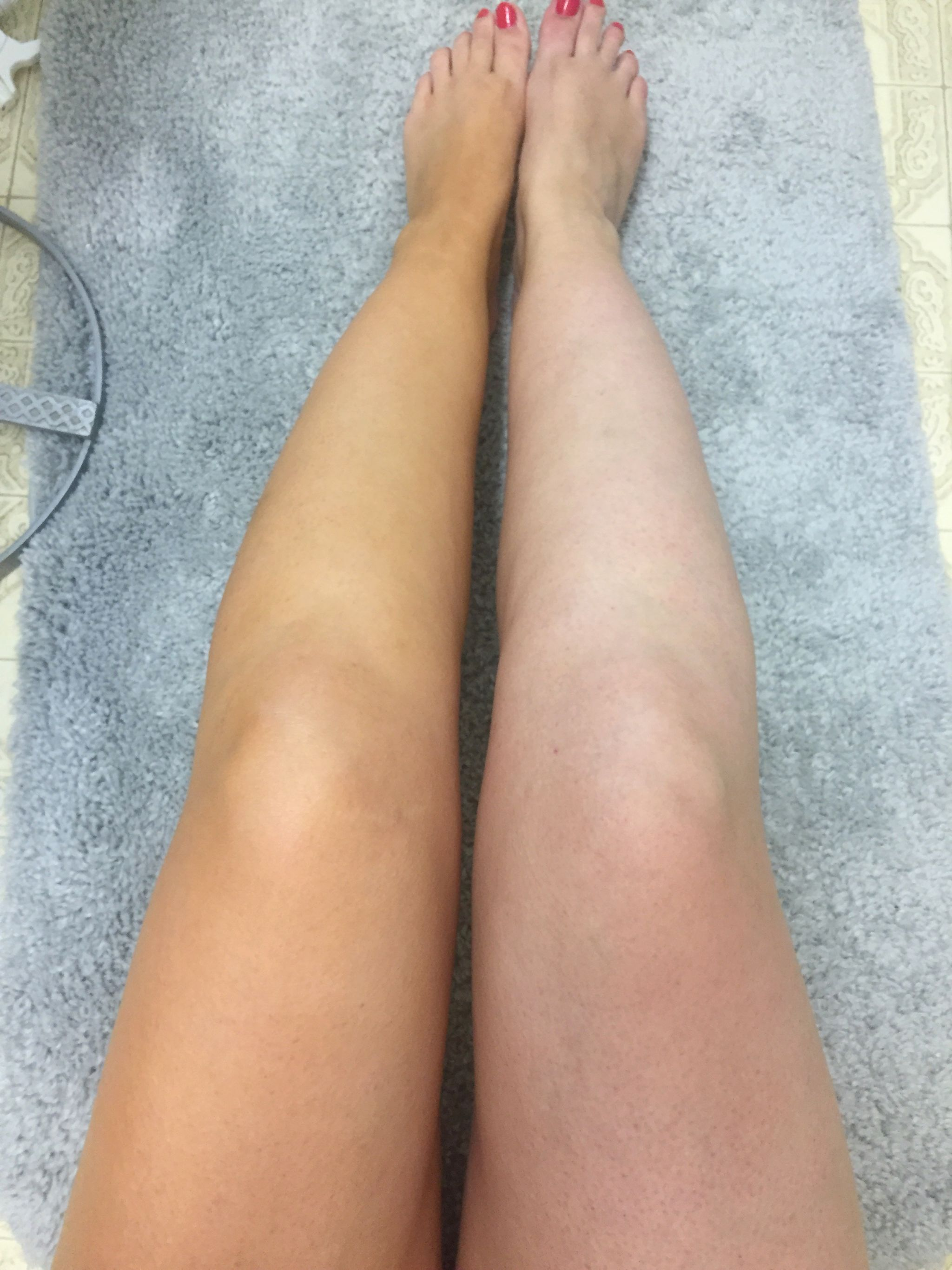 Sally Hansen Airbrush Legs Before And After A Review Of This Leg Makeup