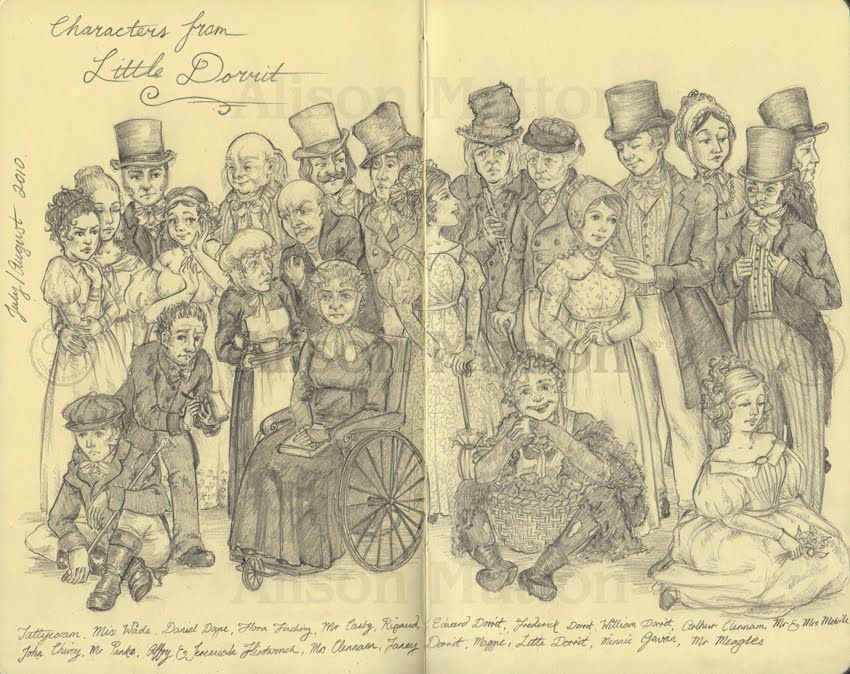 Characters from Little Dorrit