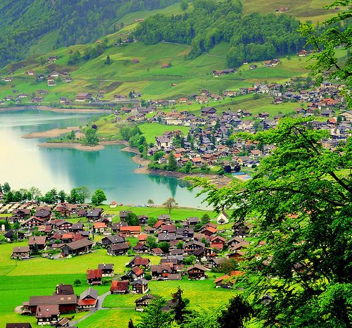 Amazing Places To Stay Switzerland: Lungern, Switzerland By Aremac. One Day I Will Be There