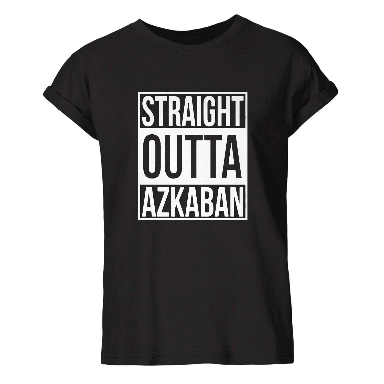 Black t shirt unisex - Harry Potter Inspired T Shirt Straight Outta Azkaban Black Tshirt Shirt Tumblr Hipster T Shirt Unisex S 3xl Size