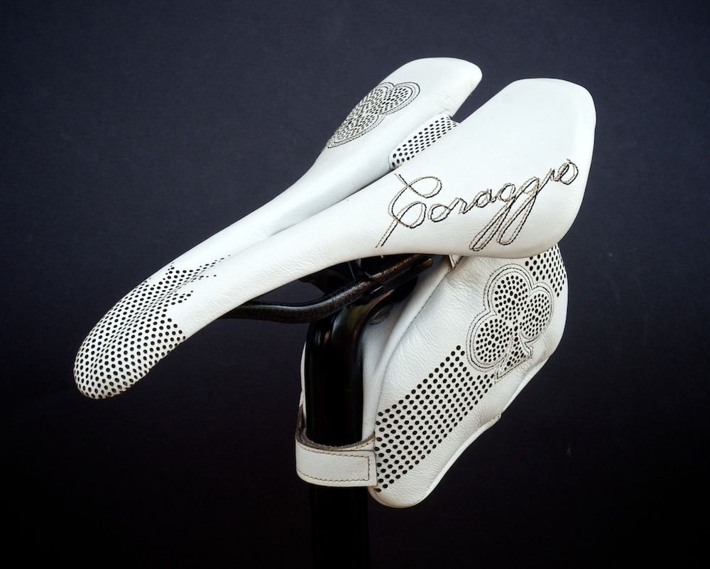 New Black White Colnago Tool Saddle Bag for your Road Bike