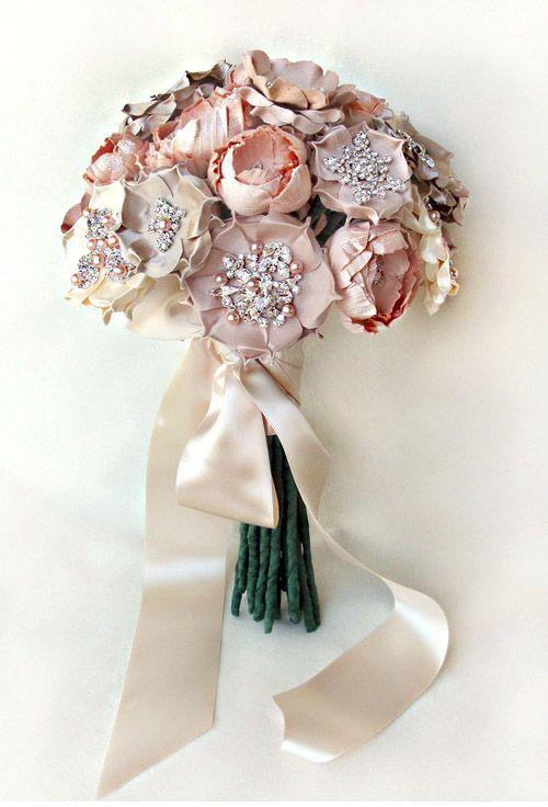 Silk Bridal Bouquets from Emici Bridal   Silk bridal bouquet, Flower ...