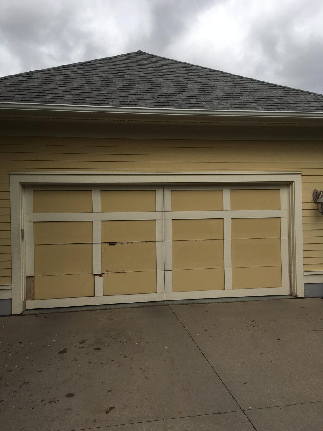 dellwood doors replacement garage upgrade after all seasons door