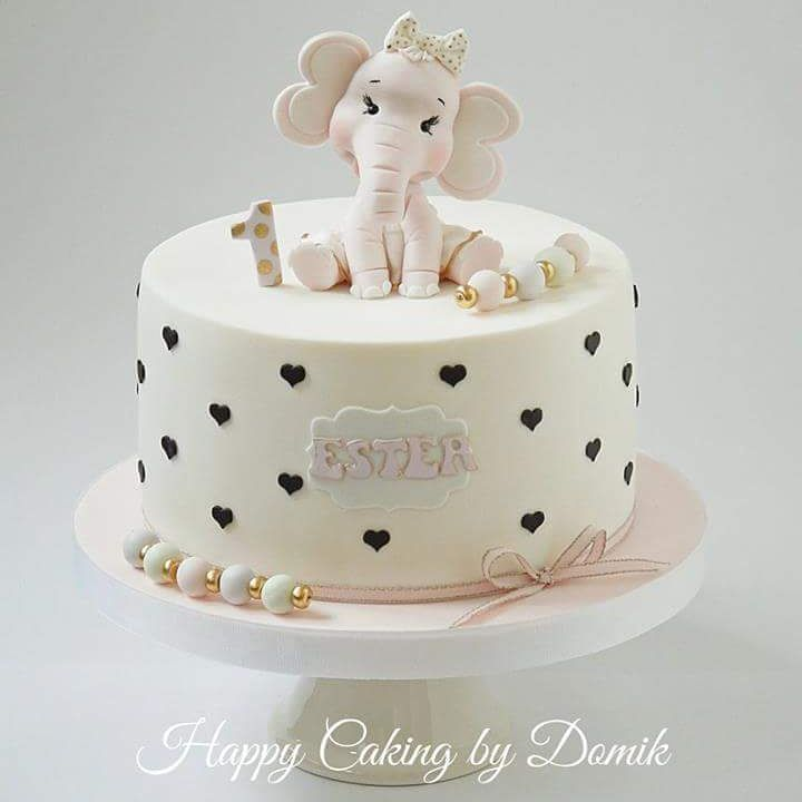 Baby Elephant Cake, Elephant Cakes And Baby