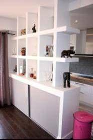 Separation cuisine salon meubles styl s separation - Cloison separation cuisine sejour ...