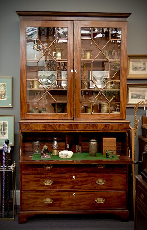 Mahogany secretary, circa 1800\'s. #interiordesign #forsale ...