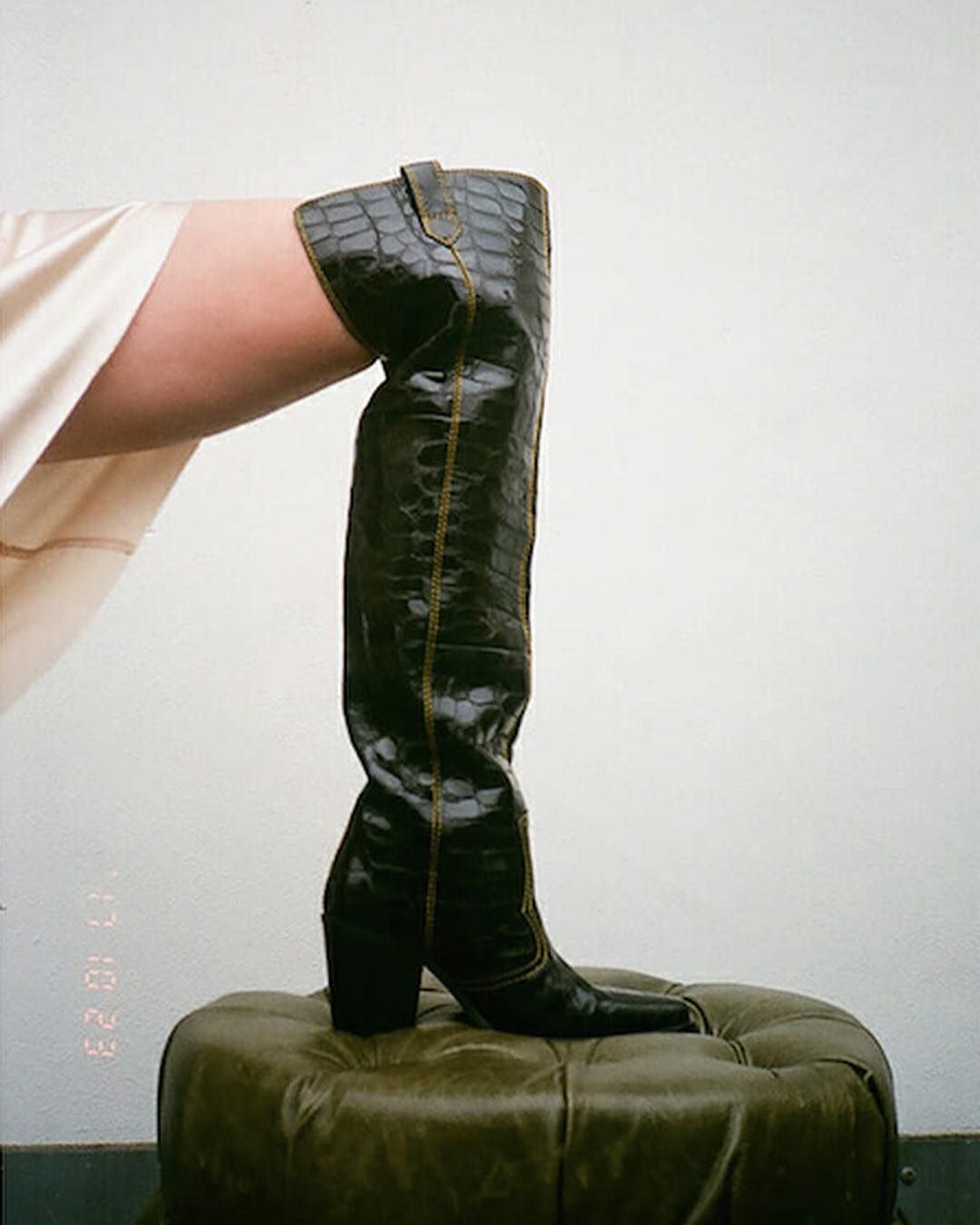 """4,102 Likes, 45 Comments - GANNI (@ganni) on Instagram: """"@stella_vonsenger in Nadine boots featured by @manrepeller #ganni #gannigirls - shop link in bio"""""""