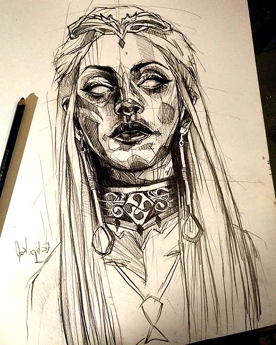 Pin By Noura On Art In 2020 Dark Art Drawings Creepy Drawings Art Sketches