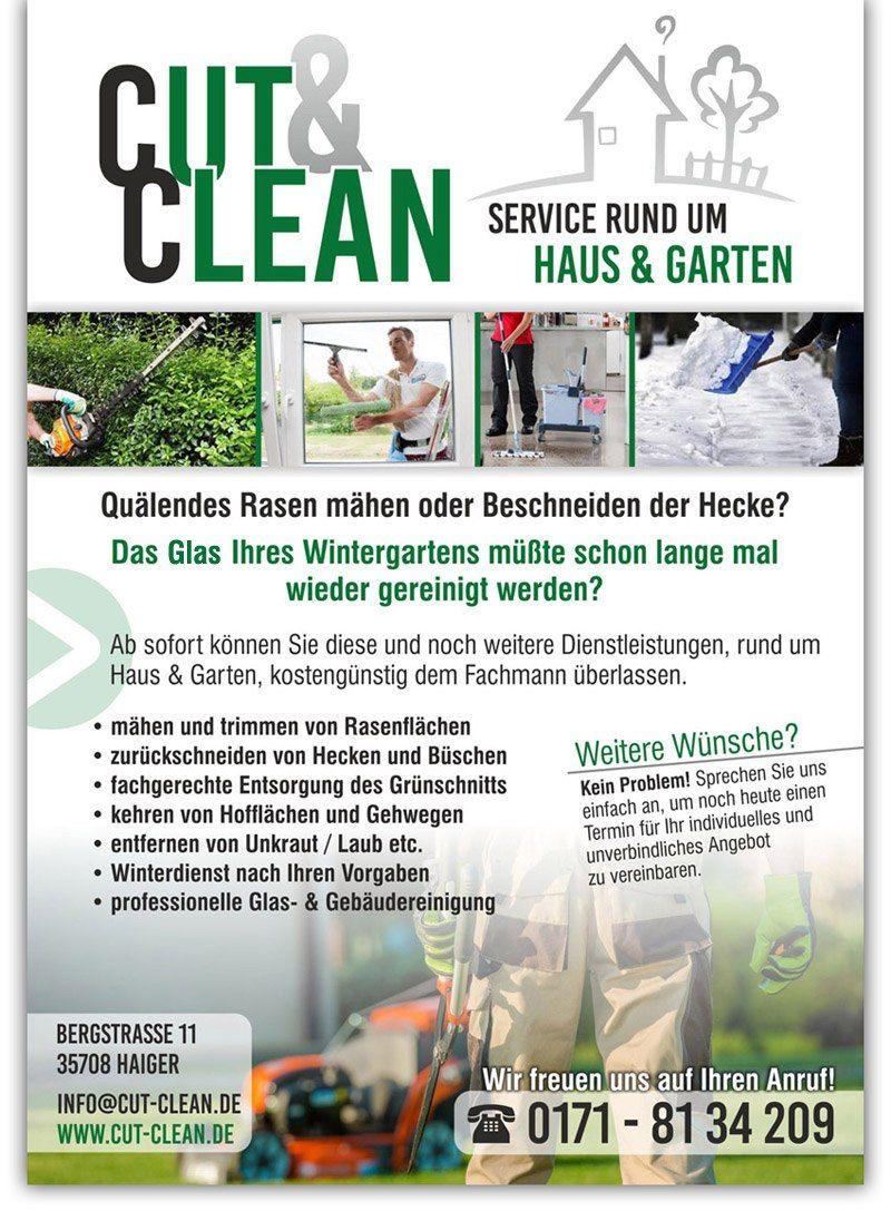Dienstleistungen Haus Und Garten Alles Im Detail Von Cut Clean