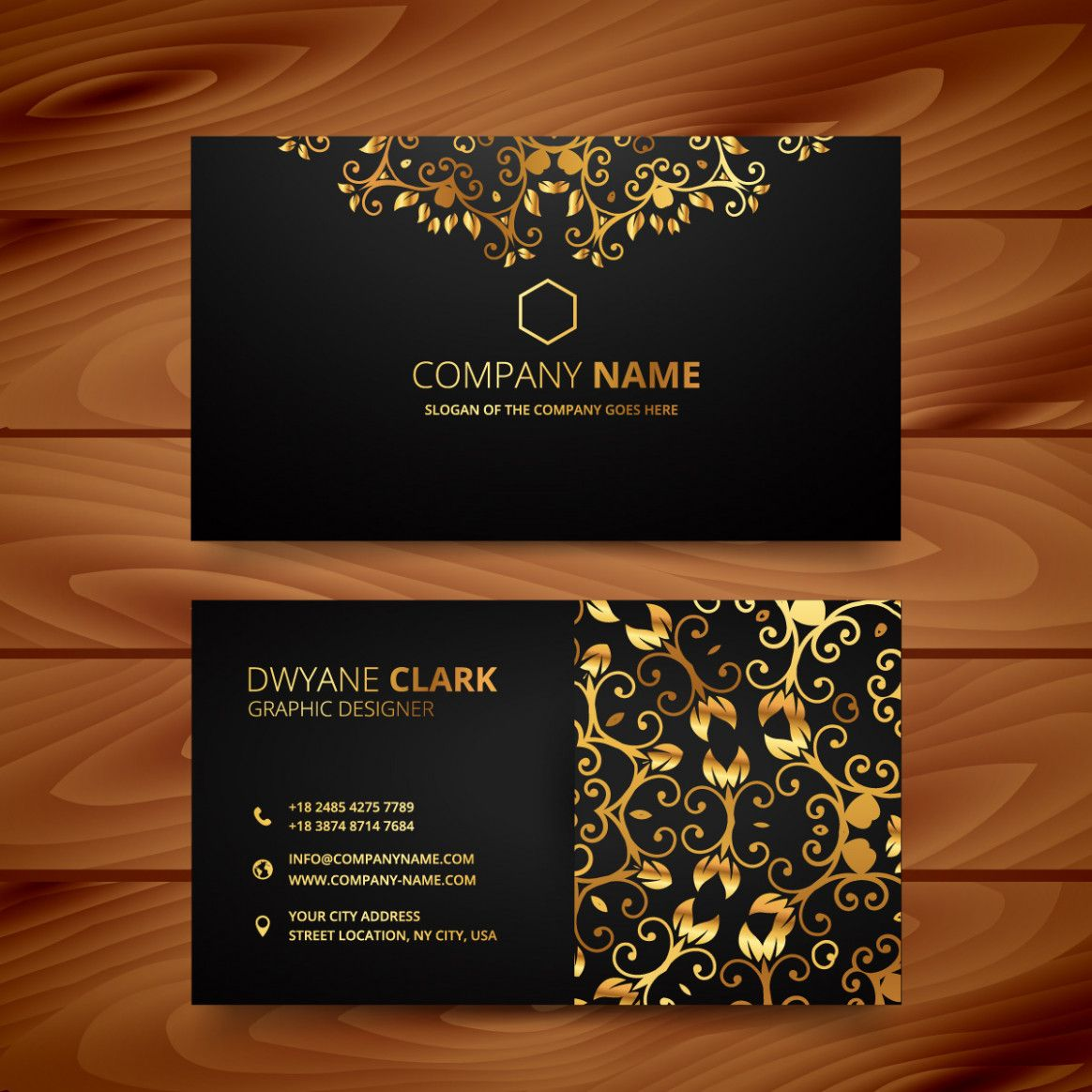 professional name card in 2020  elegant business cards