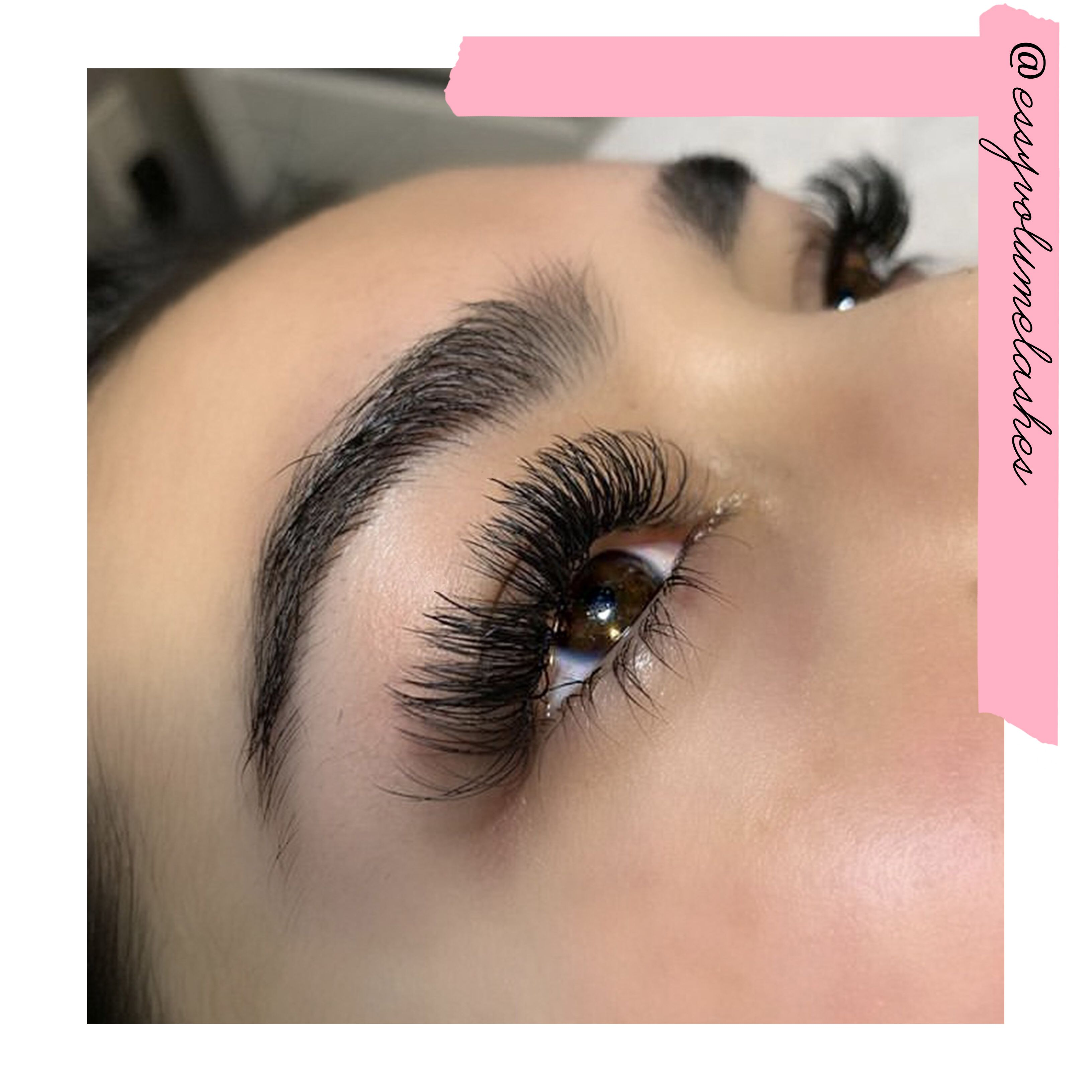 5a7002affb8 Love this beautiful hybrid set done using essylashes easy fan volume lashes!  They make volume lashing so much easier!