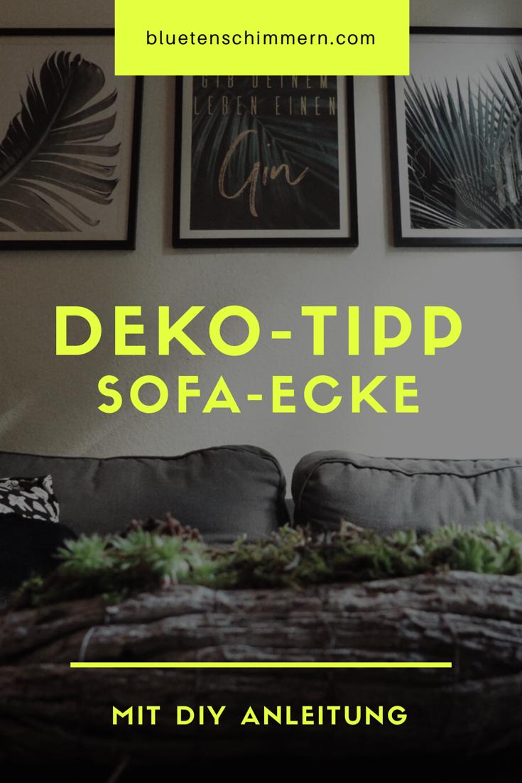 Deko Tipps Fr Deine Sofa Ecke Im Wohnzimmer UrbanJungle Stil Pflanzen Poster