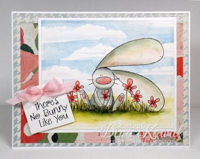 Mama Dini's Stamperia: Splitcoast Tutorial - Cloudy Backgrounds