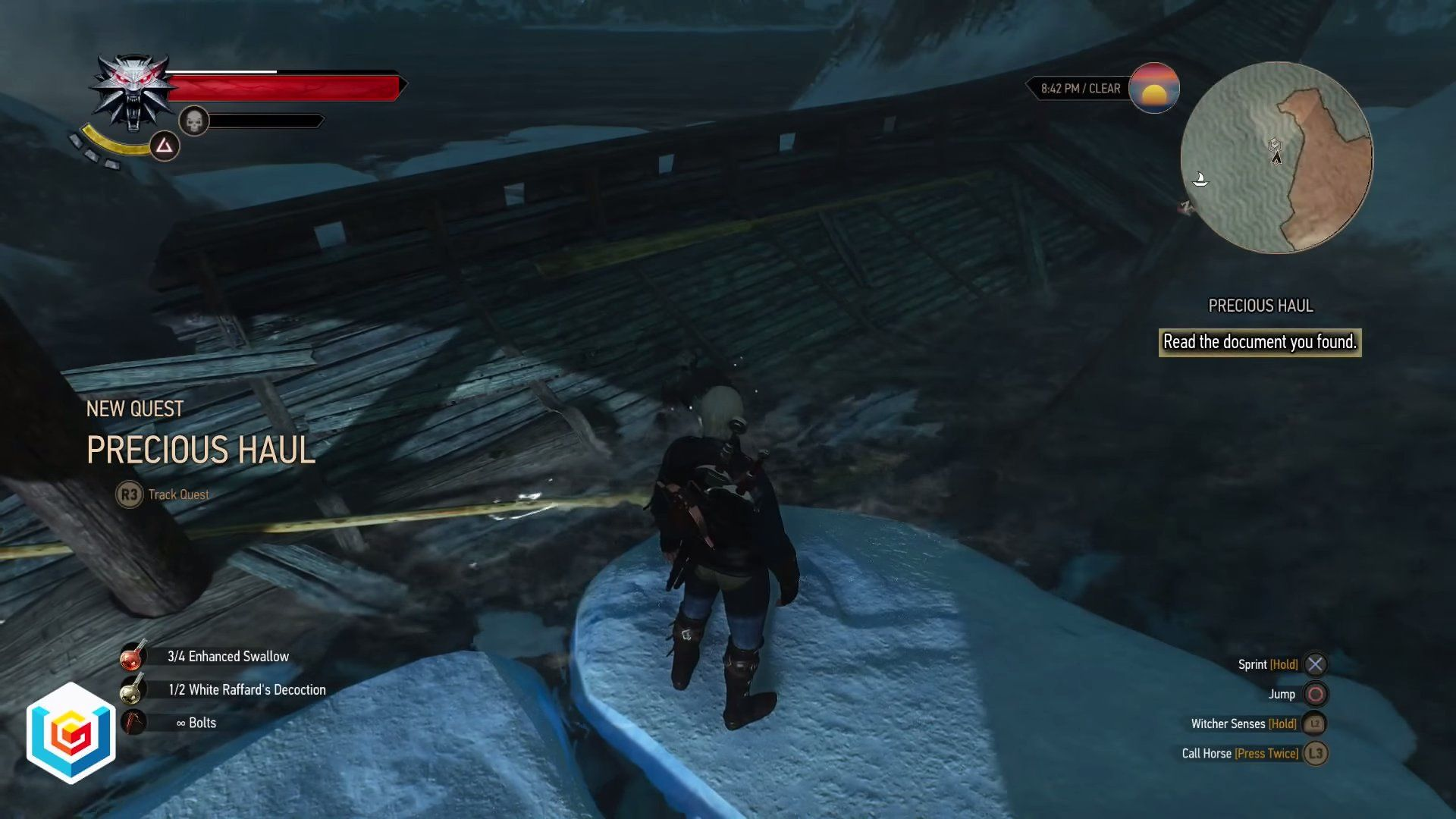 The Witcher 3 Wild Hunt Precious Haul Treasure Hunt Quest