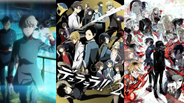 new anime Google Search Anime shows, Anime, Durarara