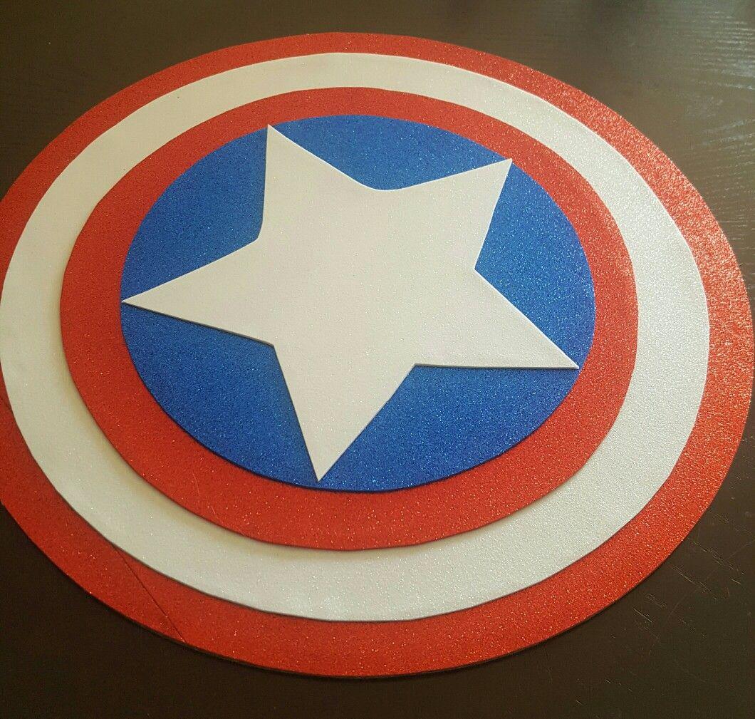 Centro De Mesa Capitán América: Capitan America Centro De Mesa, Center Piece