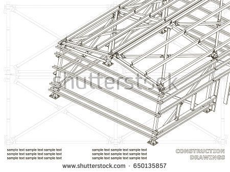 Building metal construction bubushonok art bubushonokart design metal construction buy this stock vector on shutterstock find other images malvernweather Image collections