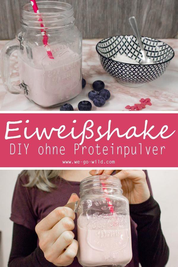 Eiweißshake selber machen: 5 schnelle Proteinshake Rezepte ohne Pulver #proteinshakes