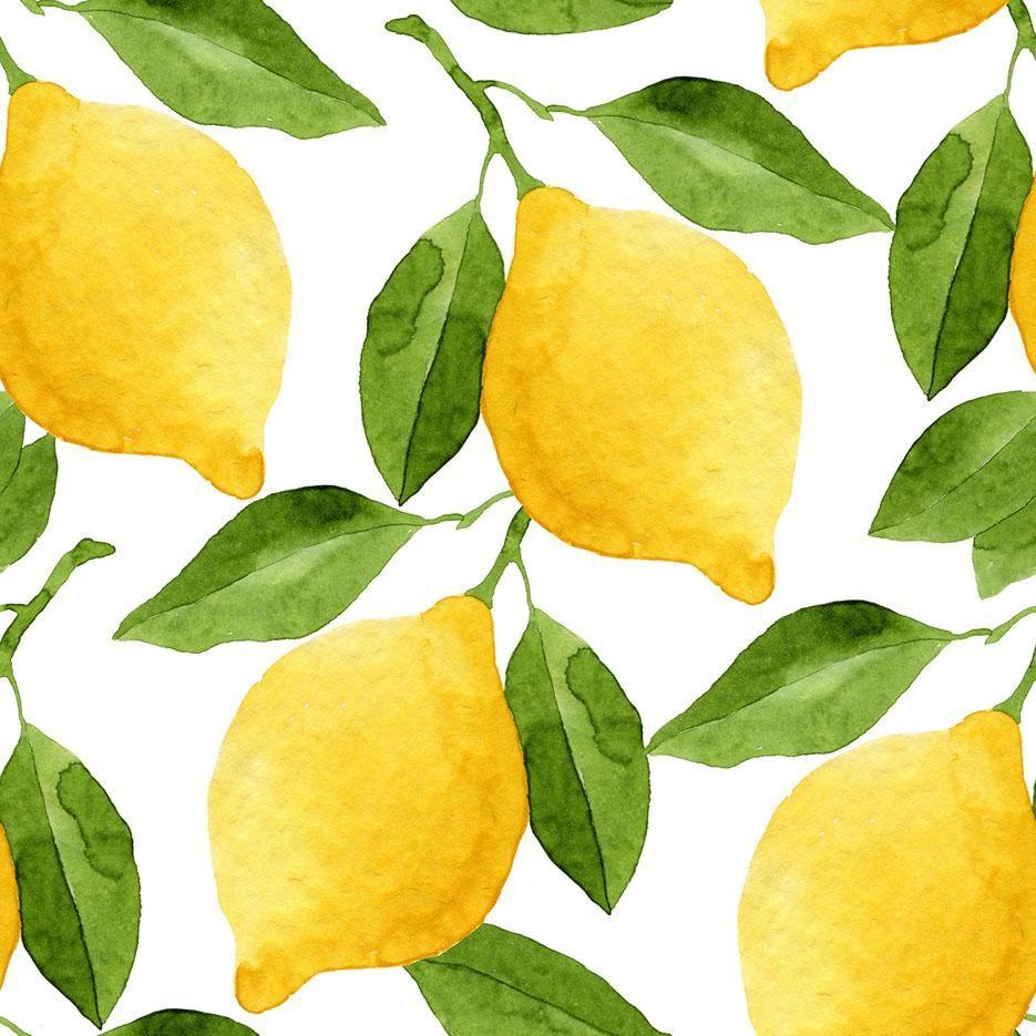 Lemonhead in 2020 fruit art vinyl wallpaper peel