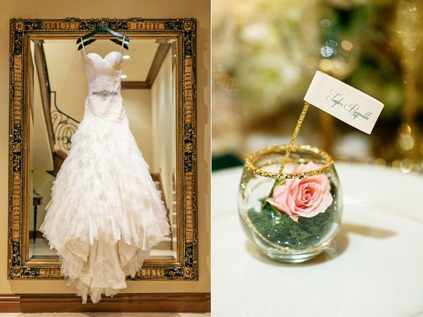 Emerald And Champagne Wedding Ideas