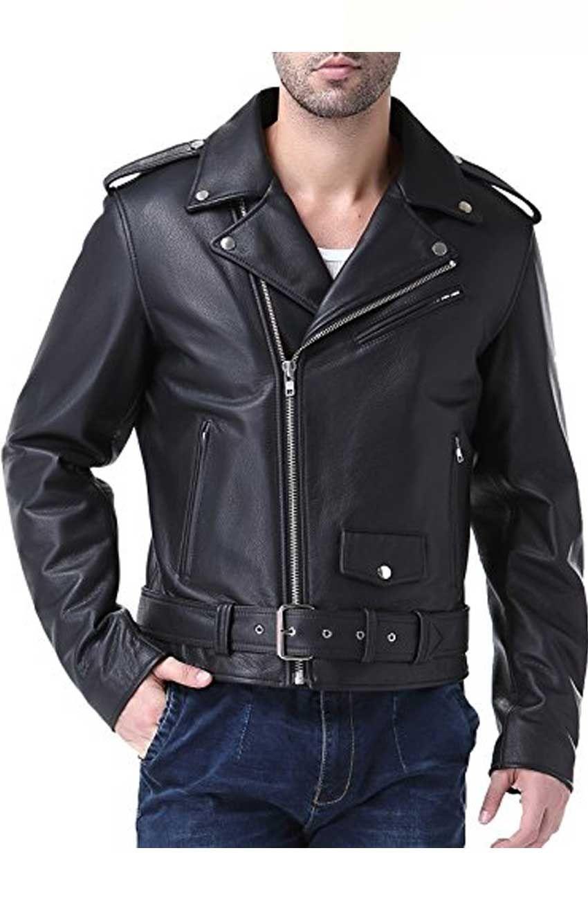 Men S Classic Biker Big And Tall Jacket On Movies Jacket Leather Jacket Leather Jacket Men Jackets [ 1300 x 850 Pixel ]