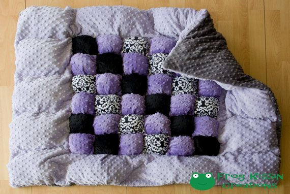 Minky Puff Quilt - so soft!