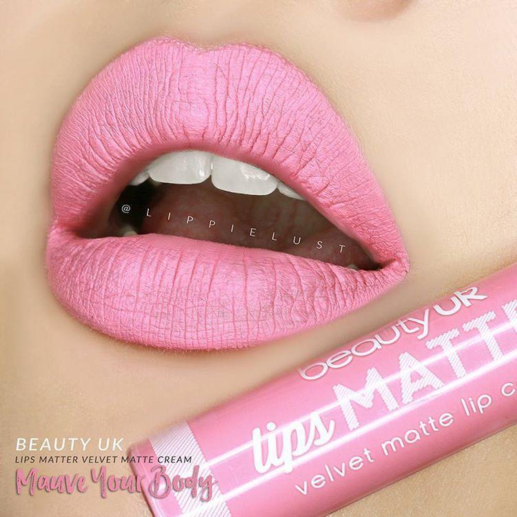 Beauty Uk Lips Matter Velvet Matte Lip Cream Mauve Your Body Matte Lips Matte Lip Cream Lip Beauty