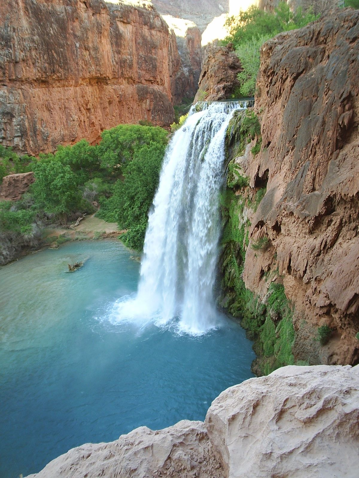 havasu falls chip and i are hiking to this in early september