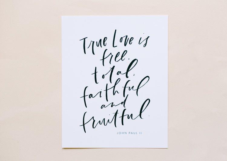 free total faithful fruitful