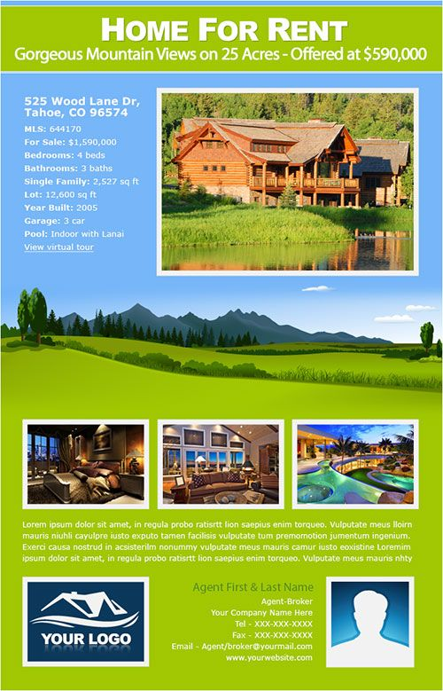 New Real Estate Email Flyer Designs | New Real Estate Email Flyer ...