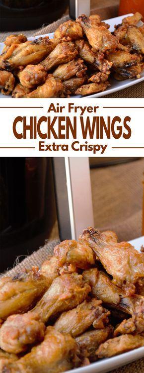 Air Fryer Extra Crispy Chicken Wings #airfryerrecipes