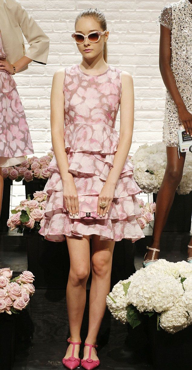 Kate Spade Spring 2016 | Pretty in pink