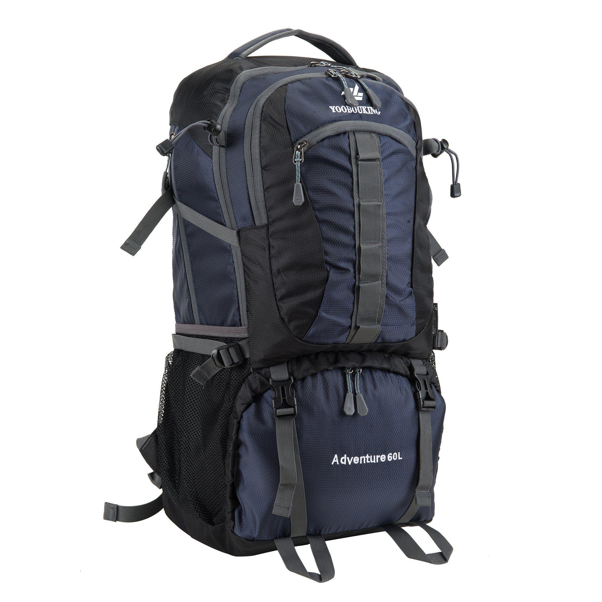 55-60 Travel Backpack Hiking Daypack Trekking Backpack Waterproof ...