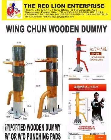 Wing Chun Wooden Dummy In Pasig Metro Manila Ncr Olxph