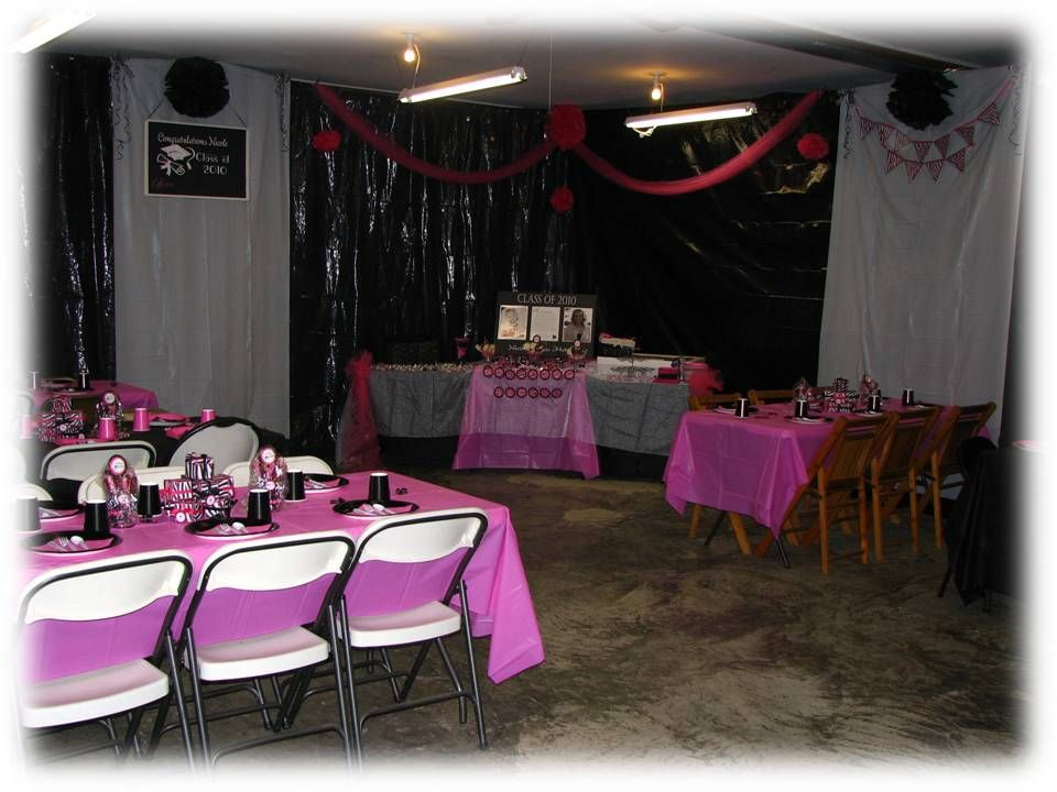 decorating your garage for graduation party