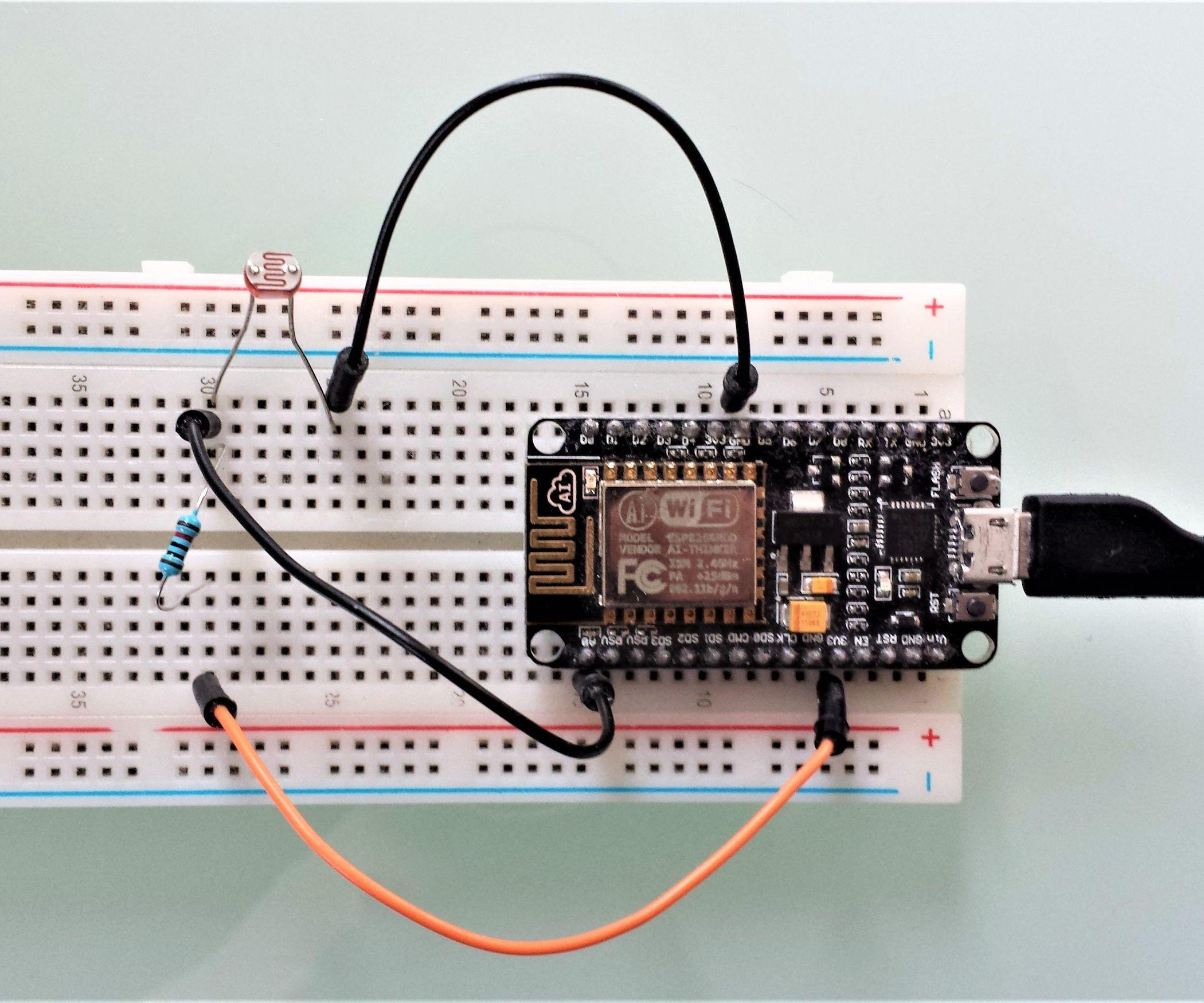ESP8266 Light Sensor | Pinterest | Wifi, Arduino and Arduino projects