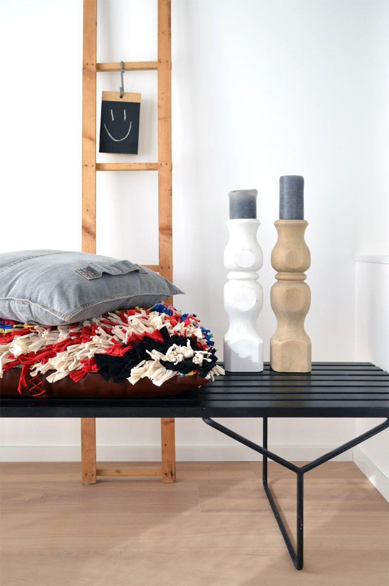 Wohnideen Minimalistischem Kerzen | Kerzenstander Diy Selber Machen Holz 4 Wohnidee Pinterest