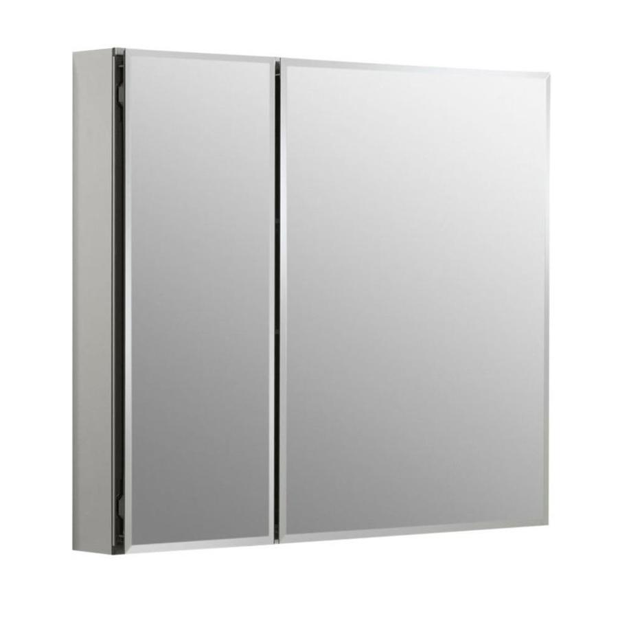 Recessed Aluminum Mirrored Medicine