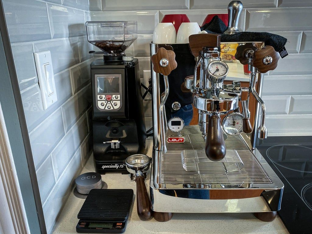 Lelit Bianca + Eureka Specialty 75 = happy home barista
